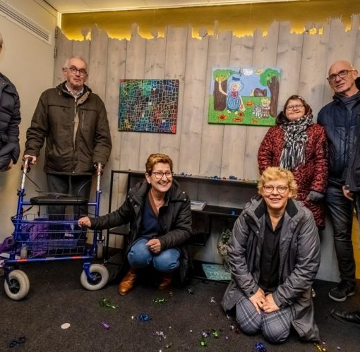 Opening vernieuwde hal Cronenborgcomplex
